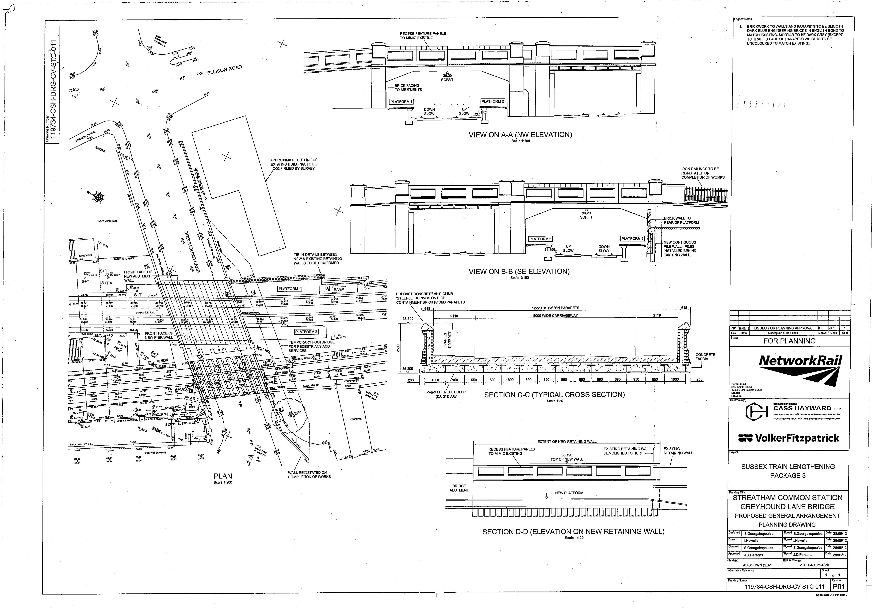 architectural drawings of bridges.  Bridges Streatham  In Architectural Drawings Of Bridges I
